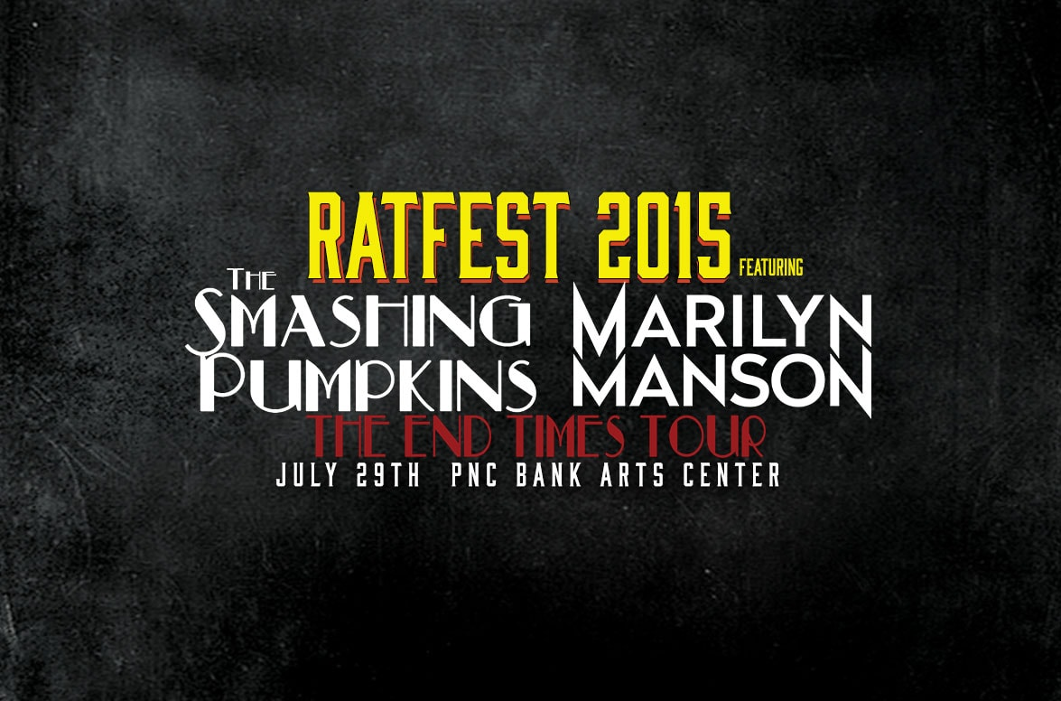 Rat Fest 2015 Presents The End Times Tour The Smashing Pumpkins Marilyn Manson 95 9 The Rat