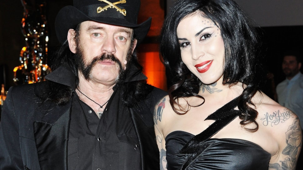 Watch Kat Von D Touches Up Lemmy S Faded Tattoos