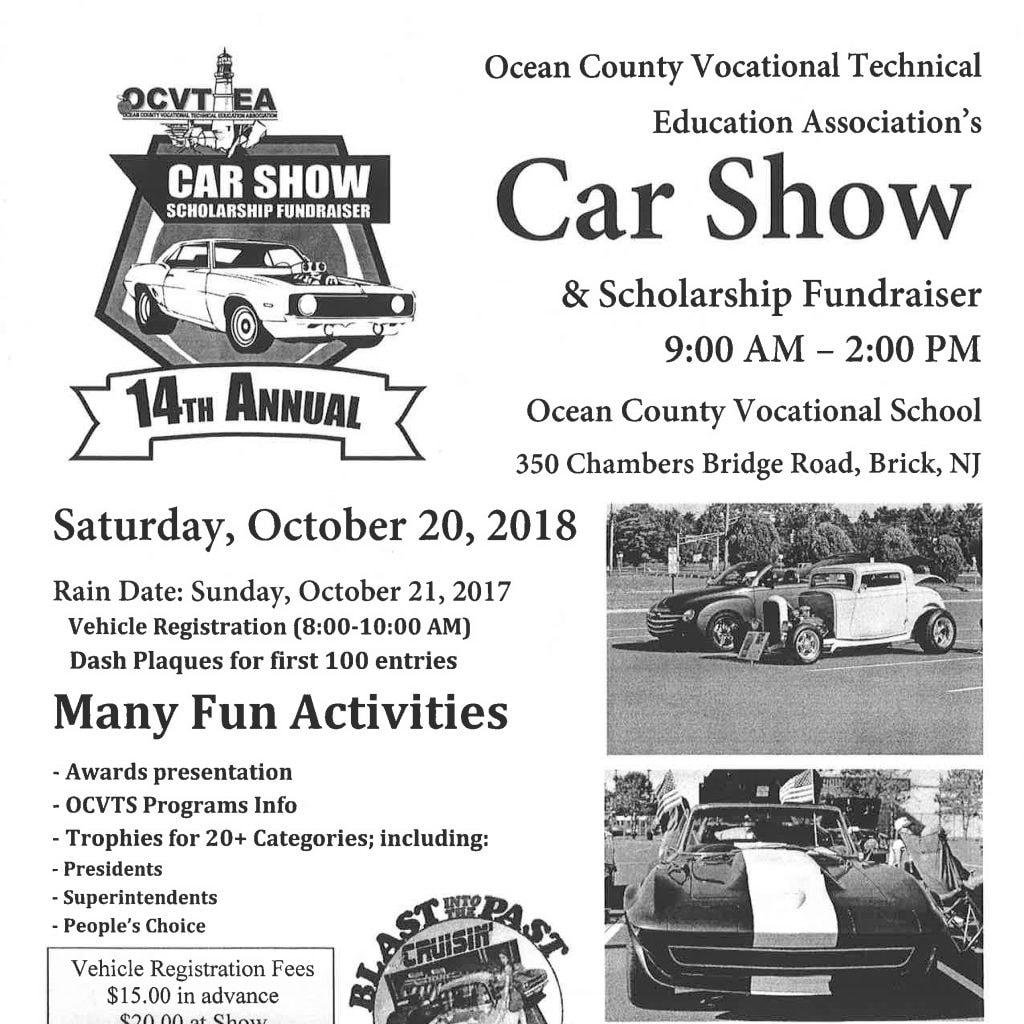 OCVT Car Show - Fun car show award categories