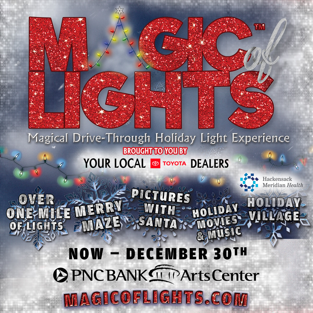 Pnc Bank Arts Center Christmas Lights 2020 87.9 Magic of Lights