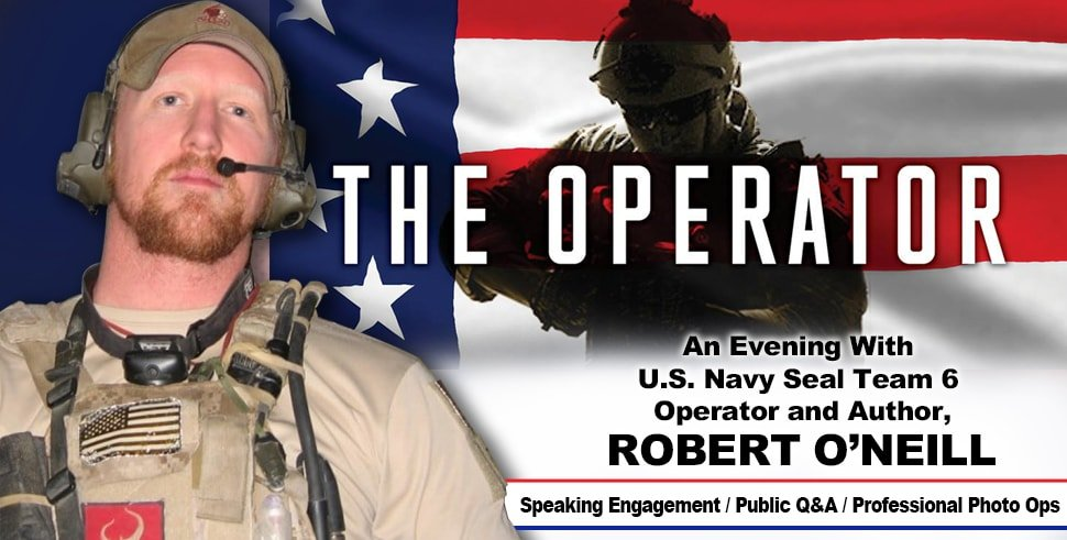 An Evening with U S  Navy Seal Team 6 Operator and Author